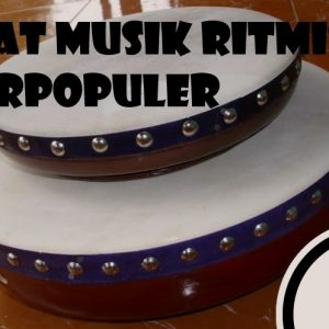 Alat Musik Ritmis Terpopuler